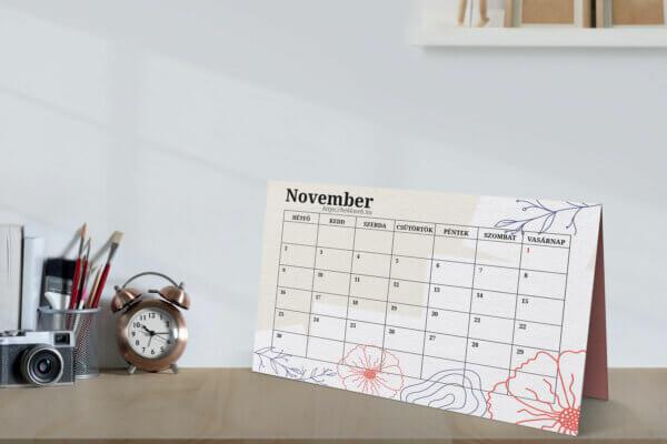 novemberi tervező naptár vállalkozásoknak