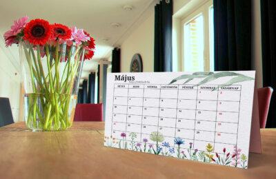 Letölthető májusi tervező naptár 2021